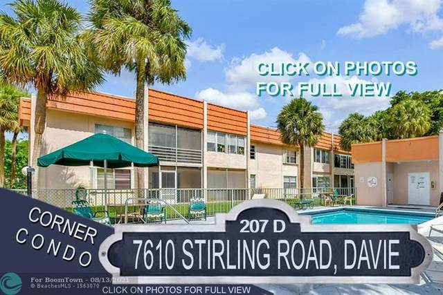 7610 Stirling Rd D207, Davie, FL 33024 (MLS #F10293287) :: The MPH Team
