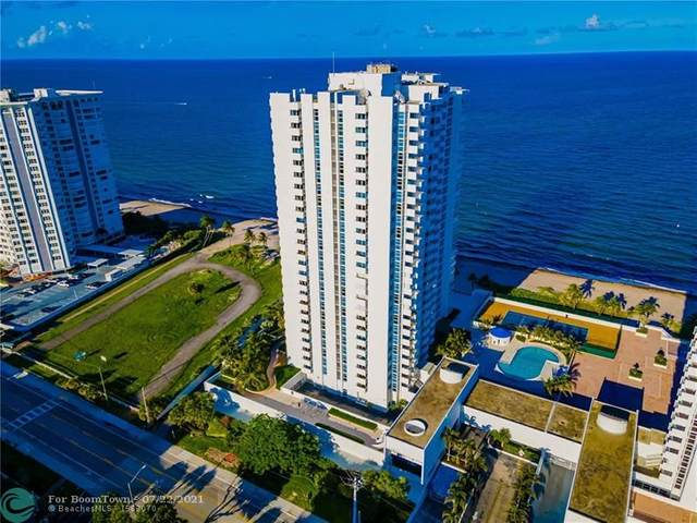 1360 S Ocean Blvd #601, Pompano Beach, FL 33062 (MLS #F10293397) :: The Jack Coden Group