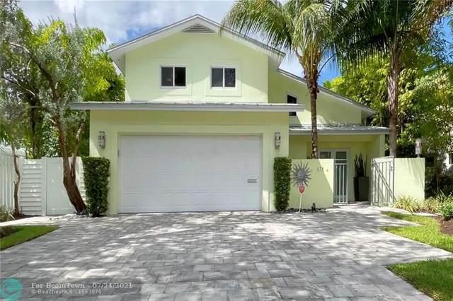 675 Ponce De Leon Dr, Fort Lauderdale, FL 33316 (MLS #F10293409) :: Berkshire Hathaway HomeServices EWM Realty