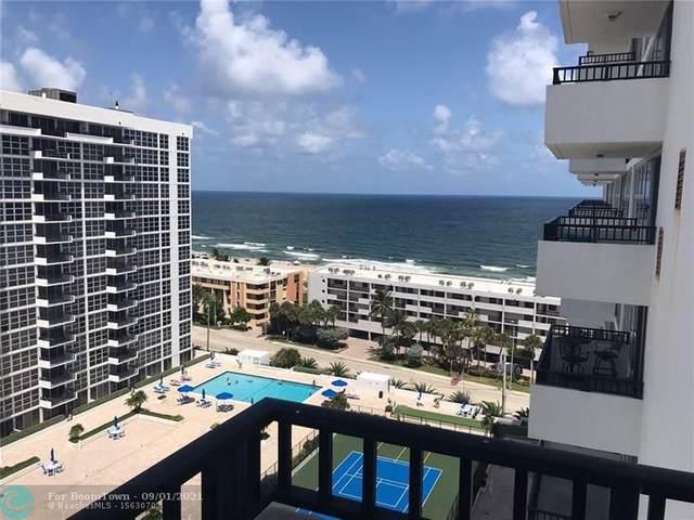 525 N Ocean Blvd #1614, Pompano Beach, FL 33062 (MLS #F10297668) :: GK Realty Group LLC