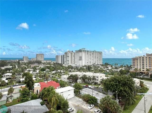 1200 Hibiscus Ave #1002, Pompano Beach, FL 33062 (MLS #F10299120) :: Castelli Real Estate Services