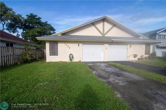 1322 SW 74th Ave, North Lauderdale, FL 33068 (#F10301254) :: Heather Towe | Keller Williams Jupiter