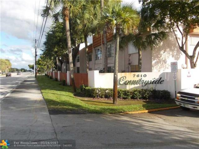 7610 Stirling Rd 206F, Hollywood, FL 33024 (MLS #F10048085) :: Green Realty Properties