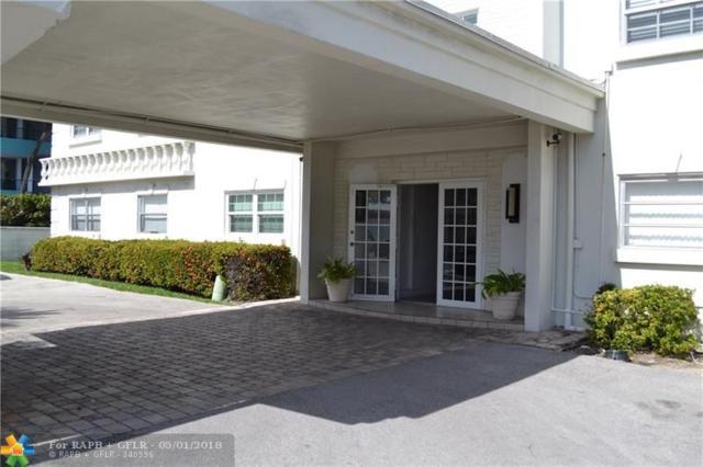 1439 S Ocean Blvd #105, Pompano Beach, FL 33062 (MLS #F10096426) :: Green Realty Properties