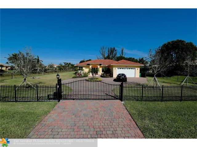 14777 SW 20th St, Davie, FL 33325 (MLS #F10102102) :: The O'Flaherty Team