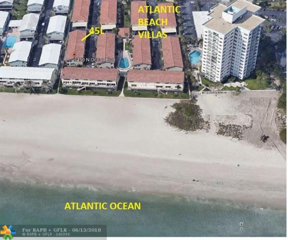 5450 N Ocean Blvd 45-L, Lauderdale By The Sea, FL 33308 (MLS #F10104445) :: Green Realty Properties