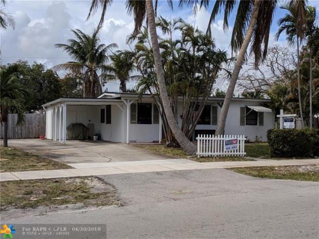 4857 NE 15TH AV, Pompano Beach, FL 33064 (MLS #F10108172) :: Green Realty Properties