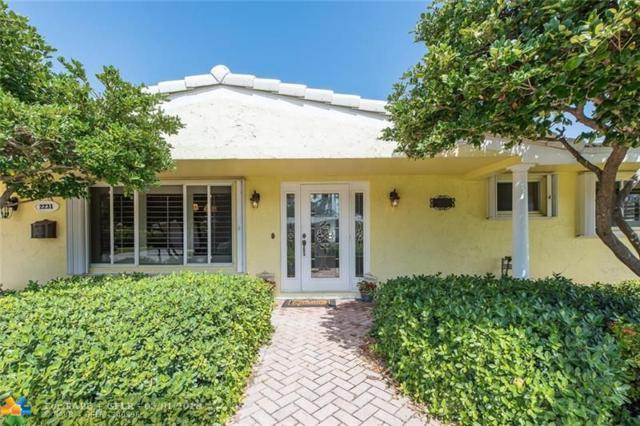 2231 NE 43rd St, Lighthouse Point, FL 33064 (MLS #F10110099) :: Green Realty Properties