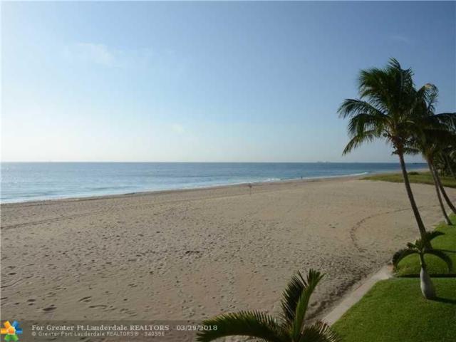 1431 S Ocean Blvd Villa#1, Pompano Beach, FL 33062 (MLS #F10110631) :: Green Realty Properties
