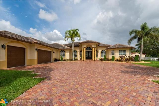 6101 SW 180TH TER, Southwest Ranches, FL 33331 (MLS #F10111433) :: Green Realty Properties