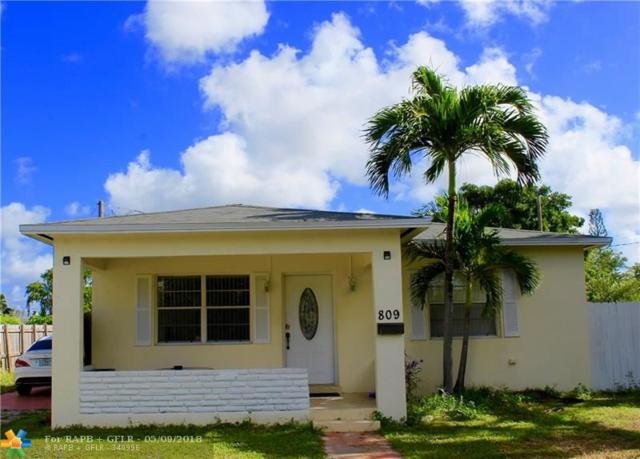 809 S 24th Ave, Hollywood, FL 33020 (MLS #F10115049) :: Green Realty Properties