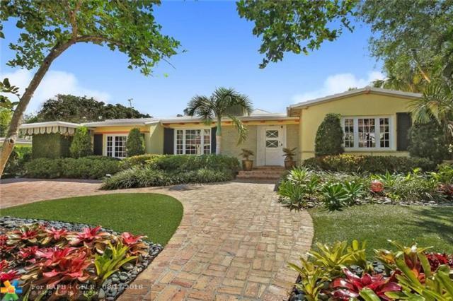 700 Poinciana, Fort Lauderdale, FL 33301 (MLS #F10117296) :: Green Realty Properties