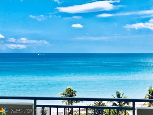 3180 S Ocean Dr #616, Hallandale, FL 33009 (MLS #F10117834) :: Green Realty Properties