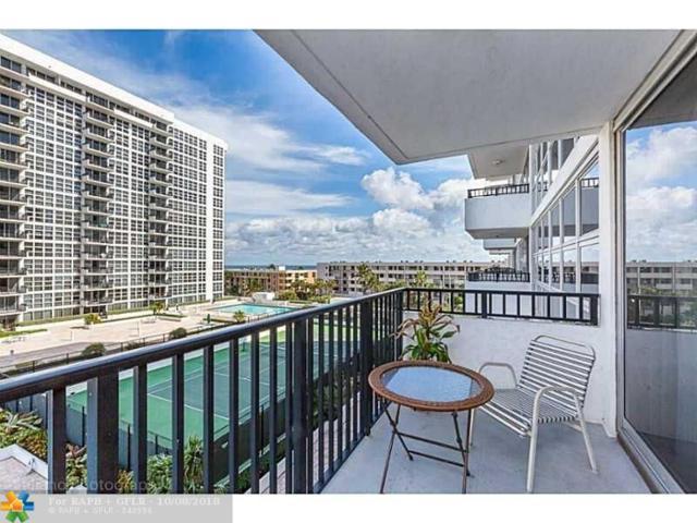 525 N Ocean Blvd #718, Pompano Beach, FL 33062 (MLS #F10121050) :: Green Realty Properties