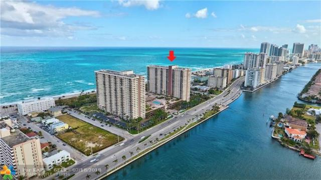 1201 S Ocean Dr 405-S, Hollywood, FL 33019 (MLS #F10126290) :: Green Realty Properties