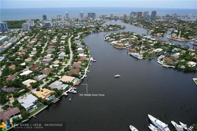 765 Middle River Dr, Fort Lauderdale, FL 33304 (MLS #F10127623) :: The O'Flaherty Team
