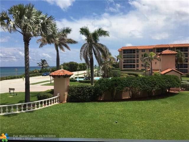 2871 N Ocean Blvd C201, Boca Raton, FL 33431 (MLS #F10130857) :: Green Realty Properties