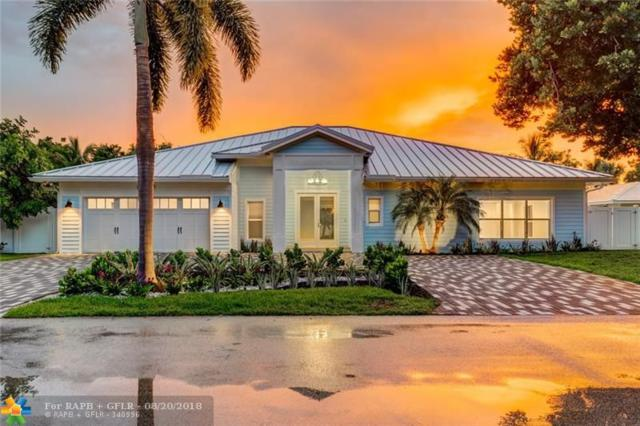 2717 NE 22nd Ave, Lighthouse Point, FL 33064 (MLS #F10133146) :: Green Realty Properties