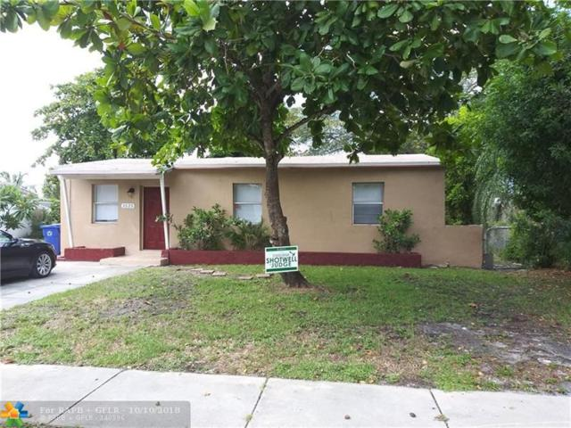 1525 NW 14th Ct, Fort Lauderdale, FL 33311 (MLS #F10135542) :: Green Realty Properties