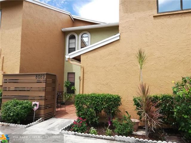 8089 NW 71st Ct #8089, Tamarac, FL 33321 (MLS #F10139890) :: Green Realty Properties