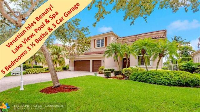 769 NW 123rd Dr, Coral Springs, FL 33071 (MLS #F10140553) :: Green Realty Properties