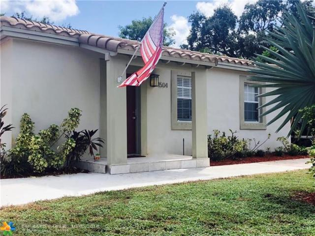 1504 NW 3RD AVE, Fort Lauderdale, FL 33311 (MLS #F10142863) :: Green Realty Properties