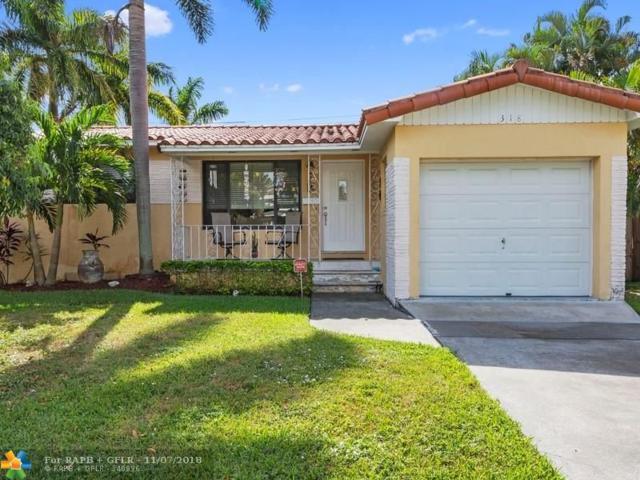 318 SE 3rd Ter, Dania Beach, FL 33004 (MLS #F10147750) :: Green Realty Properties