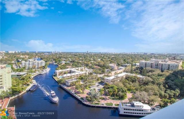 411 N New River Dr #1801, Fort Lauderdale, FL 33301 (MLS #F10161406) :: The O'Flaherty Team