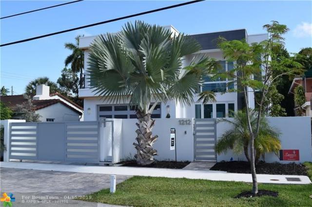 1212 NE 4th St, Fort Lauderdale, FL 33301 (MLS #F10169766) :: Green Realty Properties