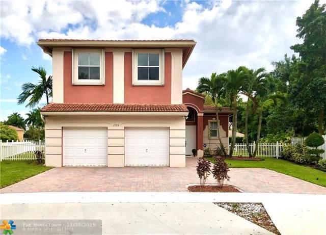 2385 SW 131st Ave, Miramar, FL 33027 (MLS #F10182445) :: Berkshire Hathaway HomeServices EWM Realty