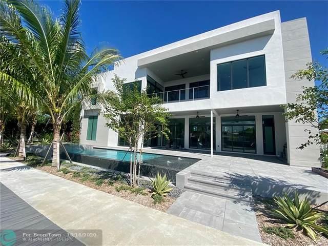3841 NE 27th Ter, Lighthouse Point, FL 33064 (#F10189307) :: Posh Properties
