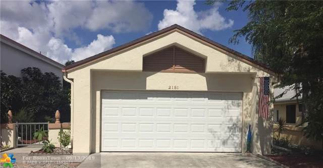 2181 NW 34th Ter, Coconut Creek, FL 33066 (MLS #F10189556) :: The O'Flaherty Team