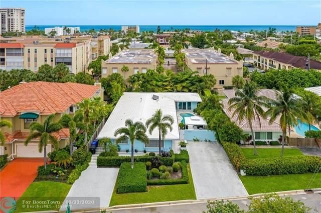 4618 Sea Grape Drive, Lauderdale By The Sea, FL 33308 (MLS #F10195871) :: Berkshire Hathaway HomeServices EWM Realty