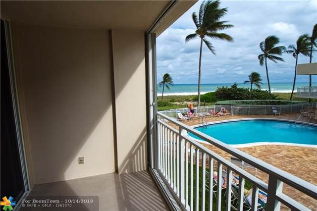 5200 N Ocean Blvd #203, Lauderdale By The Sea, FL 33308 (MLS #F10197909) :: Castelli Real Estate Services