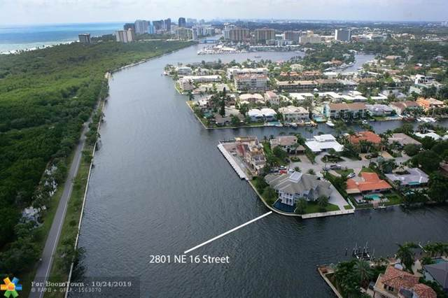 2801 NE 16th St, Fort Lauderdale, FL 33304 (MLS #F10198097) :: RICK BANNON, P.A. with RE/MAX CONSULTANTS REALTY I