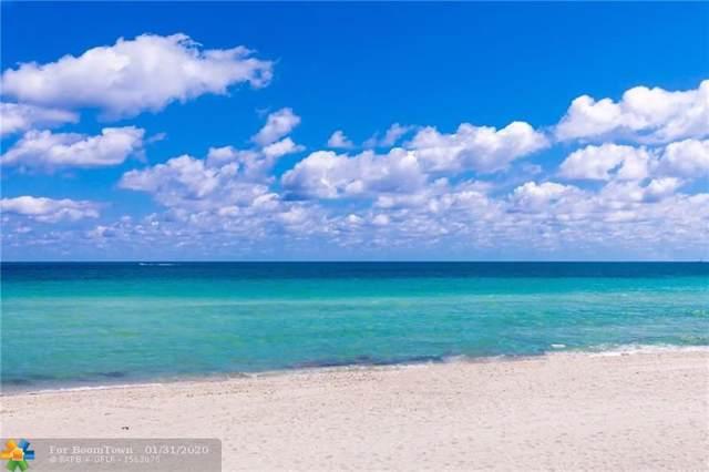 3535 S Ocean Dr #1404, Hollywood, FL 33019 (MLS #F10198930) :: Castelli Real Estate Services