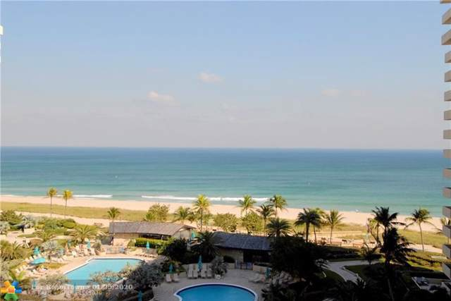 4900 N Ocean Blvd #912, Lauderdale By The Sea, FL 33308 (MLS #F10212061) :: The O'Flaherty Team