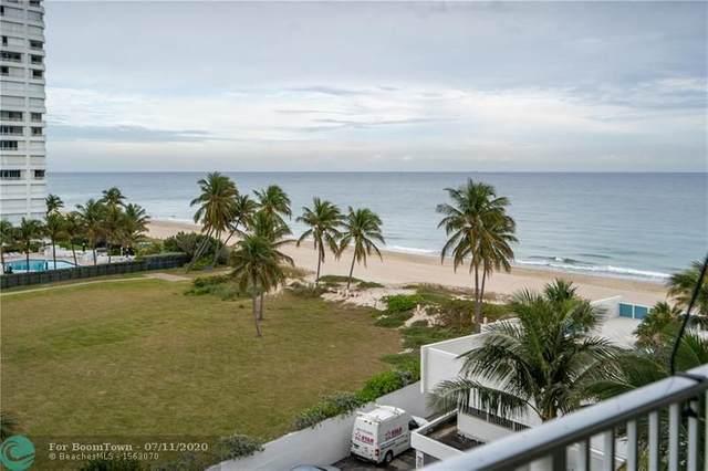 1360 S Ocean Blvd #606, Pompano Beach, FL 33062 (#F10214280) :: Posh Properties