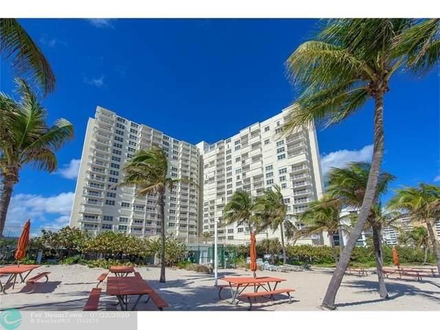 750 N Ocean Blvd #506, Pompano Beach, FL 33062 (MLS #F10215539) :: Berkshire Hathaway HomeServices EWM Realty