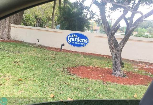 115 Gardens Dr #203, Pompano Beach, FL 33069 (#F10221739) :: Posh Properties