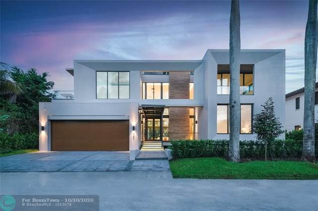 444 Coconut Isle Dr, Fort Lauderdale, FL 33301 (MLS #F10226428) :: The Howland Group