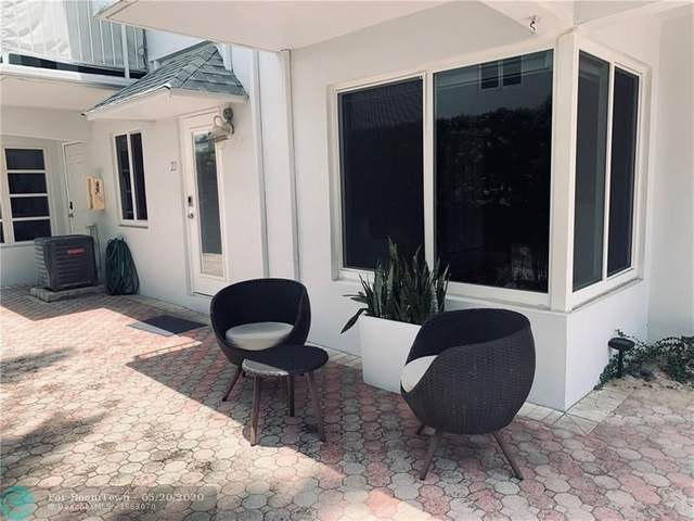 4228 N Ocean Drive #22, Lauderdale By The Sea, FL 33308 (MLS #F10229395) :: THE BANNON GROUP at RE/MAX CONSULTANTS REALTY I