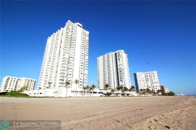 1370 S Ocean Blvd #1005, Pompano Beach, FL 33062 (#F10230885) :: The Rizzuto Woodman Team