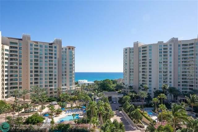 3720 S Ocean Blvd #906, Highland Beach, FL 33487 (MLS #F10236477) :: Patty Accorto Team