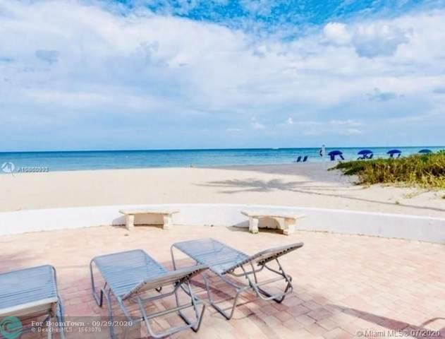 1530 S Ocean Blvd #503, Pompano Beach, FL 33062 (MLS #F10241553) :: Berkshire Hathaway HomeServices EWM Realty