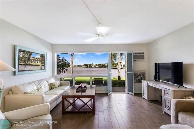 1105 S Riverside Dr #103, Pompano Beach, FL 33062 (MLS #F10246206) :: Berkshire Hathaway HomeServices EWM Realty