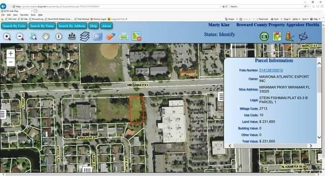 0 Miramar Pkwy, Miramar, FL 33025 (MLS #F10247777) :: Berkshire Hathaway HomeServices EWM Realty