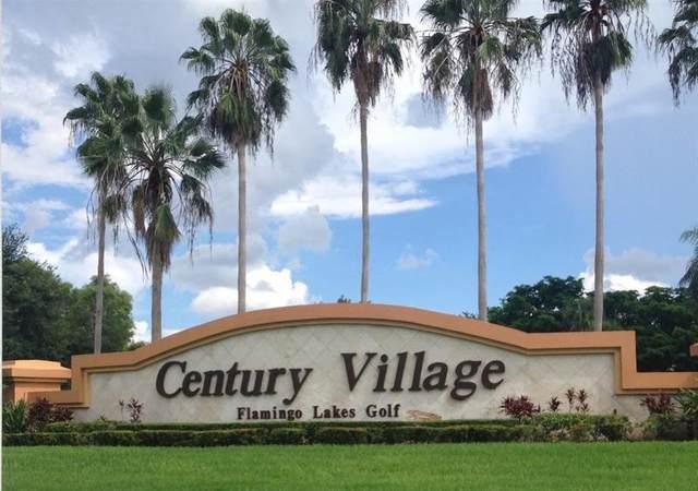 12650 SW 6th St 308K, Pembroke Pines, FL 33027 (MLS #F10250745) :: Green Realty Properties