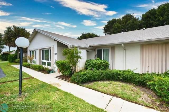 724 Lago Rd, Delray Beach, FL 33445 (MLS #F10251071) :: Berkshire Hathaway HomeServices EWM Realty