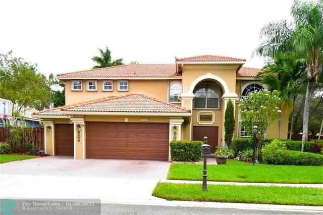 12821 NW 21st St, Pembroke Pines, FL 33028 (MLS #F10254072) :: Miami Villa Group